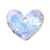 Truly In Love Heart 28mm Aurora Borealis Crystal